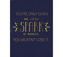 One Little Spark Photographic Print