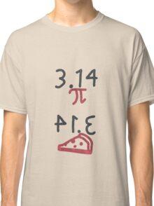 Pi = Pie (dark on light) Classic T-Shirt