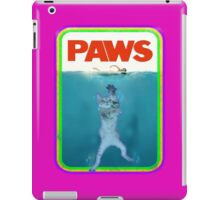 Paws Jaws Movie parody T Shirt iPad Case/Skin