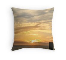 Cloudy sunset Perth  Throw Pillow