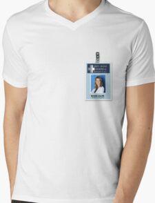 Meredith Grey - ID Badge - Greys Anatomy Mens V-Neck T-Shirt