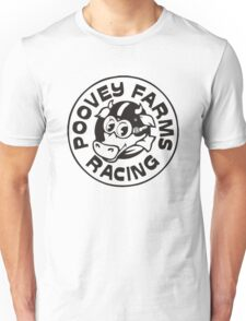 Poovey Farms Racing Unisex T-Shirt