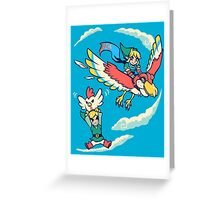 A Better Way to Fly Greeting Card
