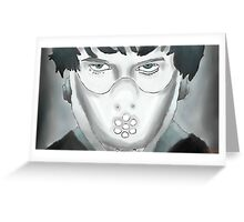 Will Graham - Coloured Greeting Card