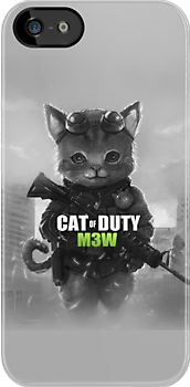 Cat of Duty by MagnoliasDragon