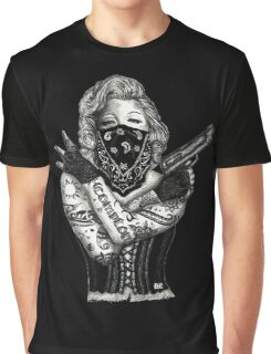 Marilyn Monroe 'Gangstified' Graphic T-Shirt
