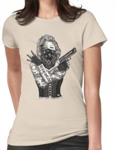 Marilyn Monroe 'Gangstified' Womens Fitted T-Shirt