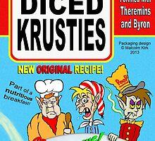 Diced Krusties by Malcolm Kirk