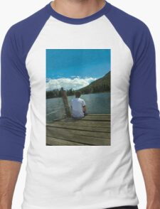 Chilling At Lago de Busa Men's Baseball ¾ T-Shirt