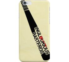 Inglorious Basters iPhone Case/Skin