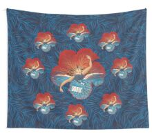 Flower Hawaii Pele Wall Tapestry