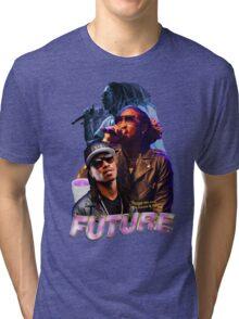 FUTURE VINTAGE TEE HIPHOP Tri-blend T-Shirt