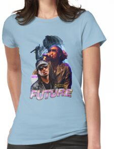 FUTURE VINTAGE TEE HIPHOP Womens Fitted T-Shirt