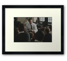 Dead Poet's Society - O Captain My Captain  Framed Print
