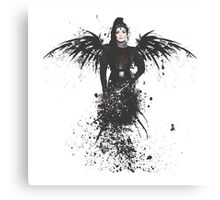 The Raven Queen Canvas Print