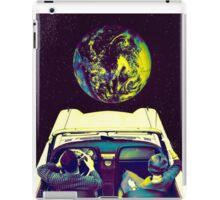 Driving in Space  iPad Case/Skin