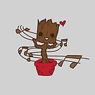Dancing Baby Alien by mininsomniac