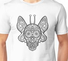 Butterfly Sugar Skull - Day of the Dead Unisex T-Shirt