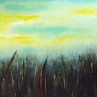 SUNRISE OVER FIELDS by Lena's Creations