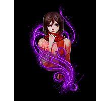 Bloody Sexy Mikasa Photographic Print