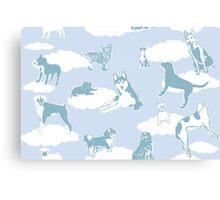 Raining Dogs Canvas Print