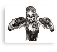 "Cara Delevingne ""Gangstified"" Canvas Print"