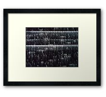 FORCE FIELD OVER PARK AVENUE (Dreams of Gotham) Framed Print