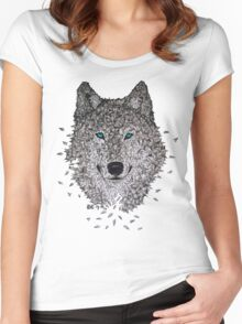 Vector Wolf Women's Fitted Scoop T-Shirt
