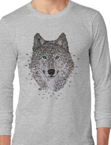Vector Wolf Long Sleeve T-Shirt