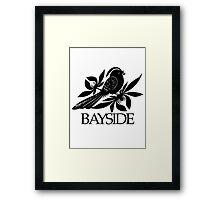 Bayside Band Logo Framed Print