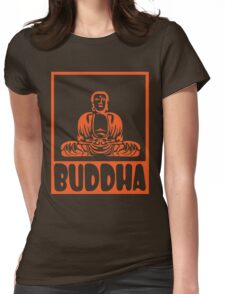 Buddha Womens Fitted T-Shirt