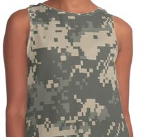 US ARMY, Universal, Camouflage, Pattern, Contrast Tank