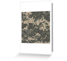 ARMY, US Army, Universal, Camouflage, Pattern, Soldier, Infantry Greeting Card