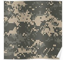 US ARMY, Universal, Camouflage, Pattern, Poster