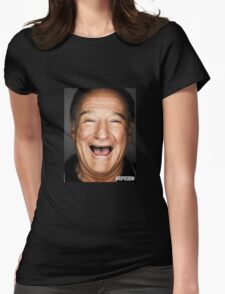 RIP ROBIN WILLIAMS Womens Fitted T-Shirt