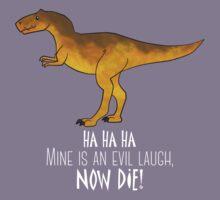 Evil laugh - darker backgrounds Kids Tee