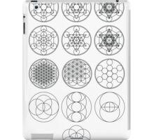 13 Circles of Sacred Geometry | FRESH iPad Case/Skin