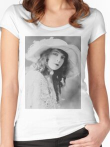 Lillian Gish  Women's Fitted Scoop T-Shirt
