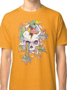 Flying Rainbow skull Island Classic T-Shirt