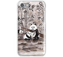 Bamboo  picnic iPhone Case/Skin