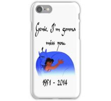 RIP Robin Williams - Genie, we're gonna miss you iPhone Case/Skin