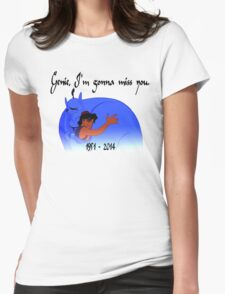 RIP Robin Williams - Genie, we're gonna miss you Womens Fitted T-Shirt