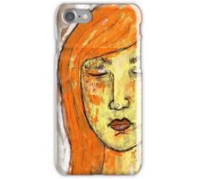 Eyes Closed, Mind Open  iPhone Case/Skin