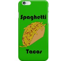 Spaghetti Taco iPhone Case/Skin