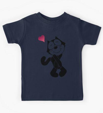 Felix the Cat Love Kids Tee