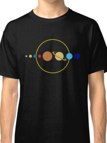 Planets and Sun Classic T-Shirt