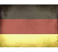 German Flag Photographic Print