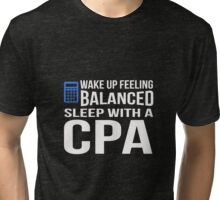 CPAs know how to Approach to women Tri-blend T-Shirt