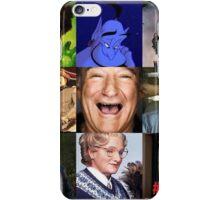 Robin Williams Collage iPhone Case/Skin