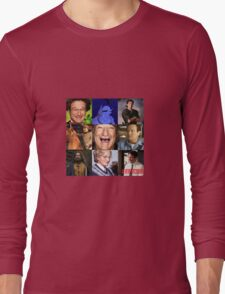 Robin Williams Collage Long Sleeve T-Shirt